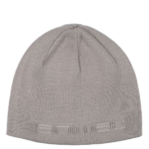 ANIMAL MENS BEANIE HAT.NEW AGAS GREY WINTER KNITTED ACRYLIC SKULLIE CAP 7W 2 F49